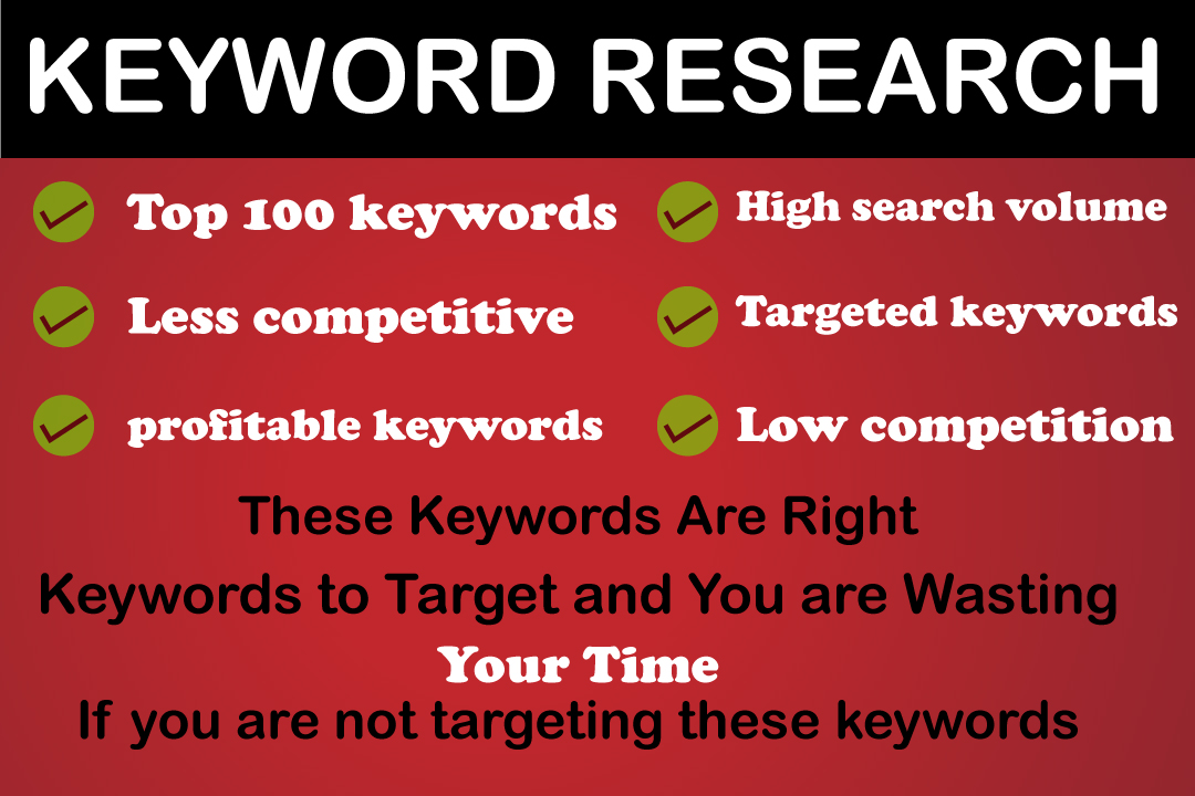 killer SEO keyword research that make ranking easy