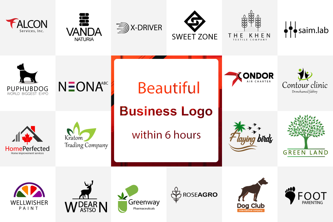 Design flat modern minimalist business logo within 6 hours