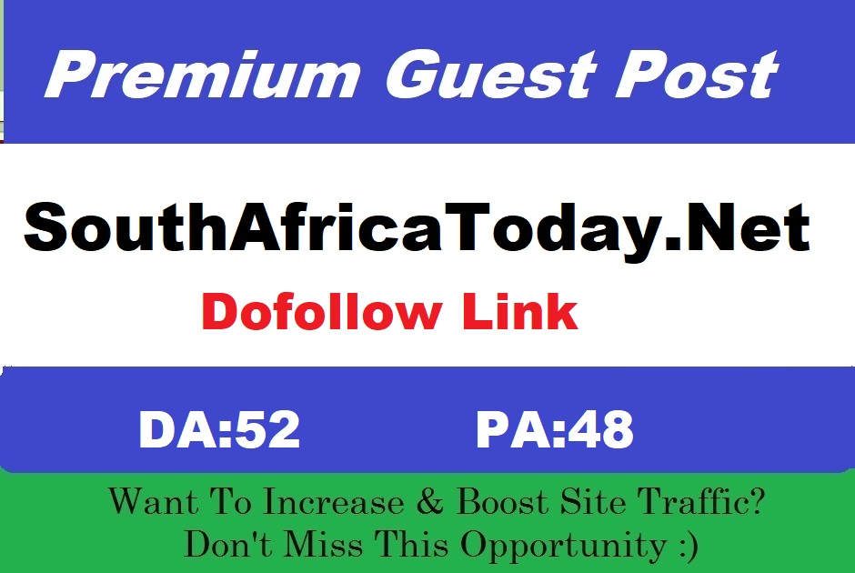Submit Guest Post on DA52 News Blog