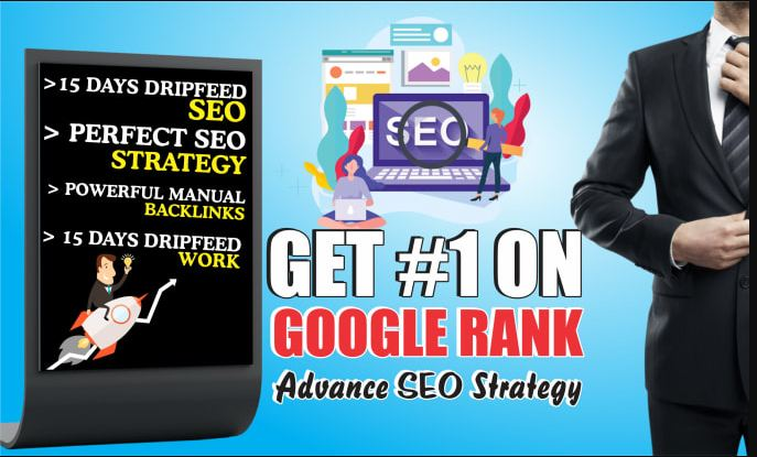 Skyrocket your google rankings with Manually created 30 High Quality Backlinks.