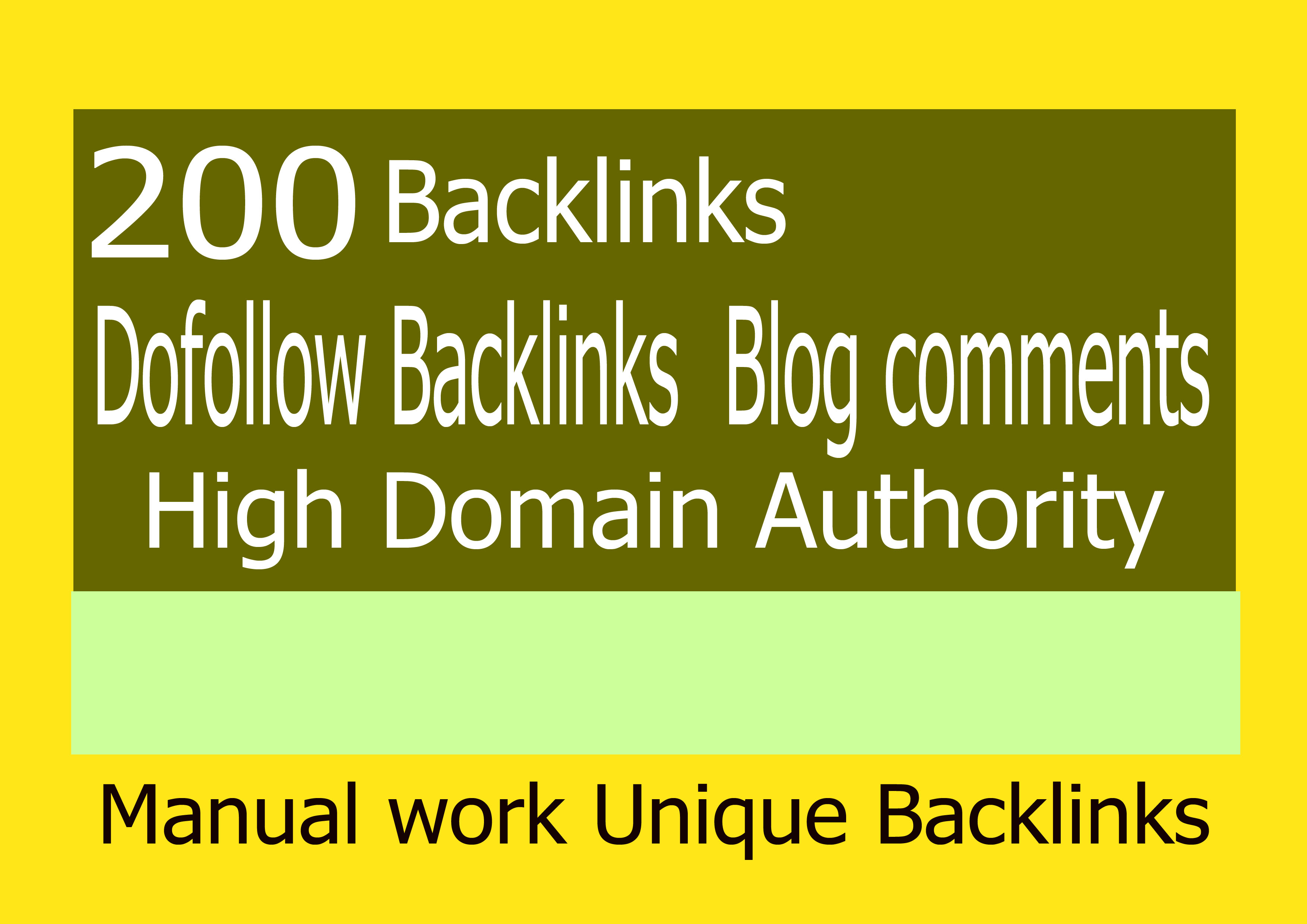 i will submit 200 dofollow backlinks with 30 to 90 +DA