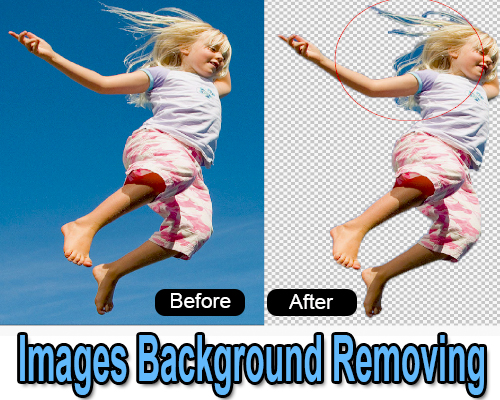 remove pictures background and all photoshop editing