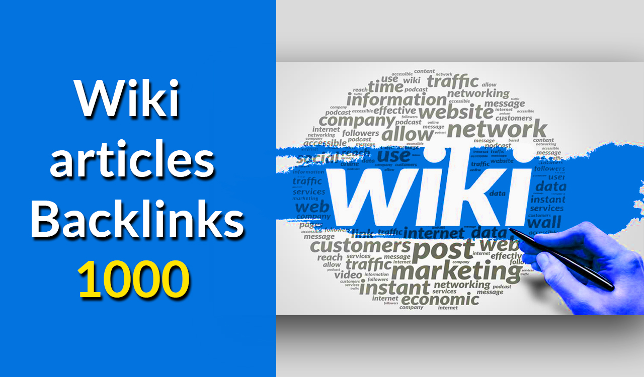 Create 1000 wiki contextual Backlinks