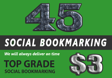 I Will Create Manually High Quality Social Bookmarks with SEO Backlinks