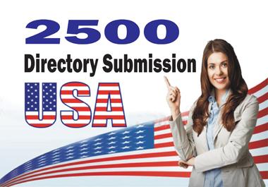 I will build 2500 USA directory seo backlinks