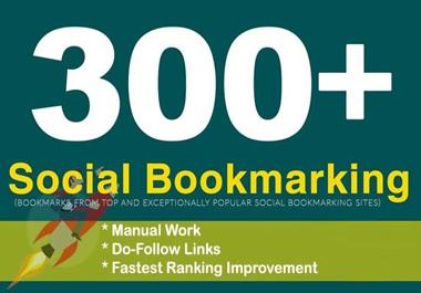 I will create 300 bookmark of social sites SEO backlinks