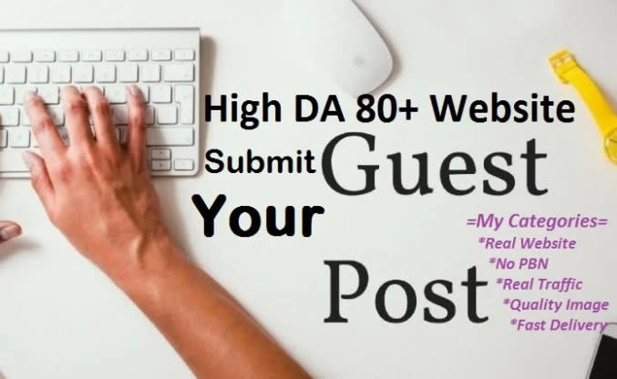 I will Publish your Guest Post on DA 50+ Websites