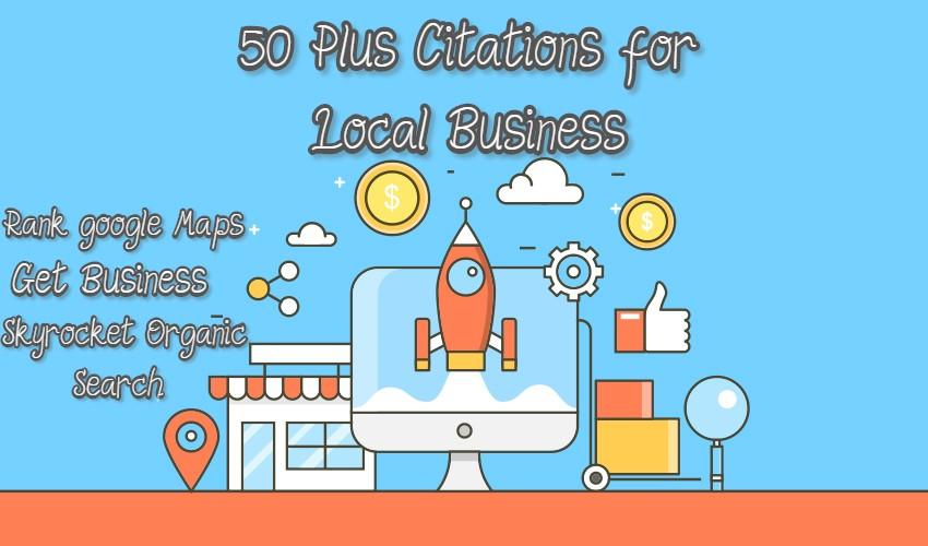 50 Plus Free Local Business Citations