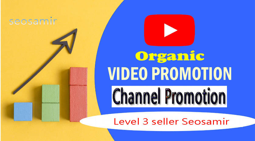 I WILL DO ORGANIC YOUTUBE VIDEO AND CHANEL PROMOTION FROM REAL USER