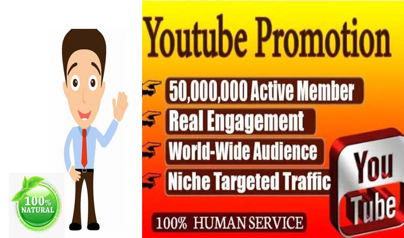 Manually Social media video Promotion from Real USA user.