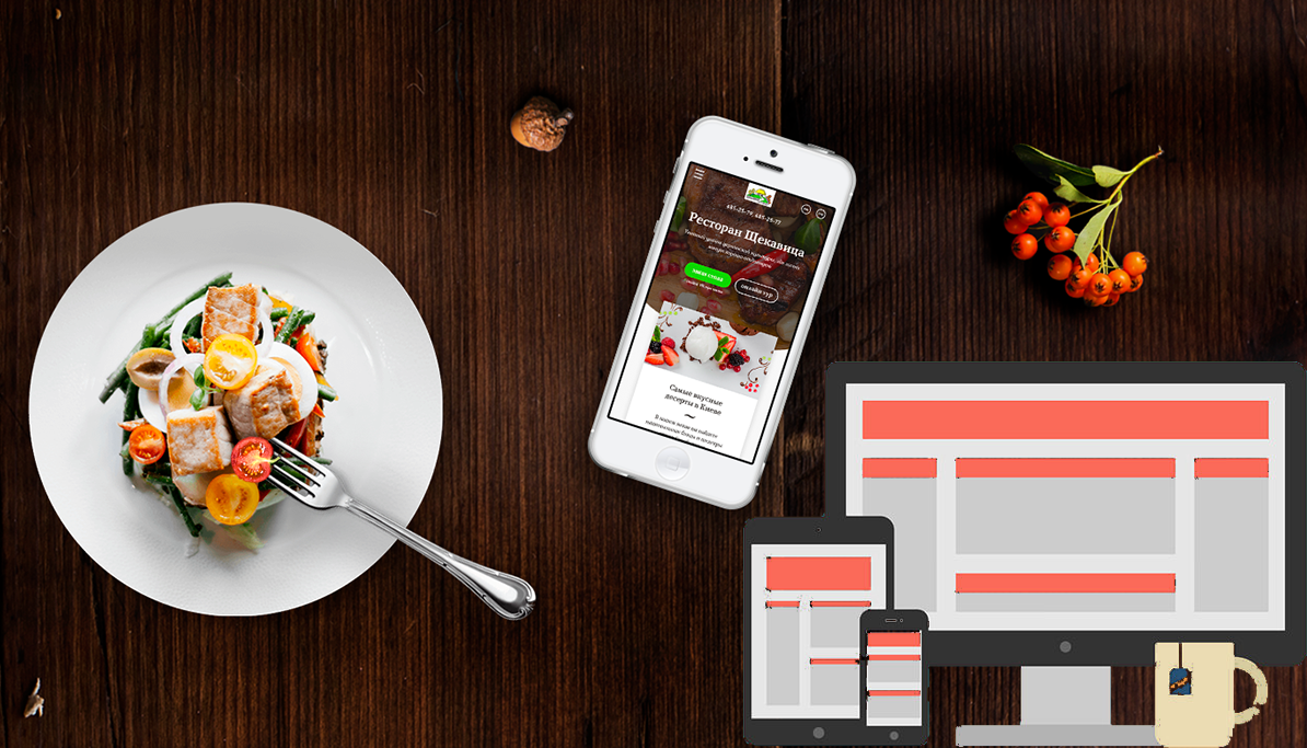 I will create your restaurant website in 6 hours