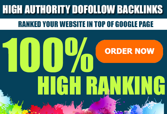 Create 1000 high Authority Dofollow Backlinks for Google Ranikng