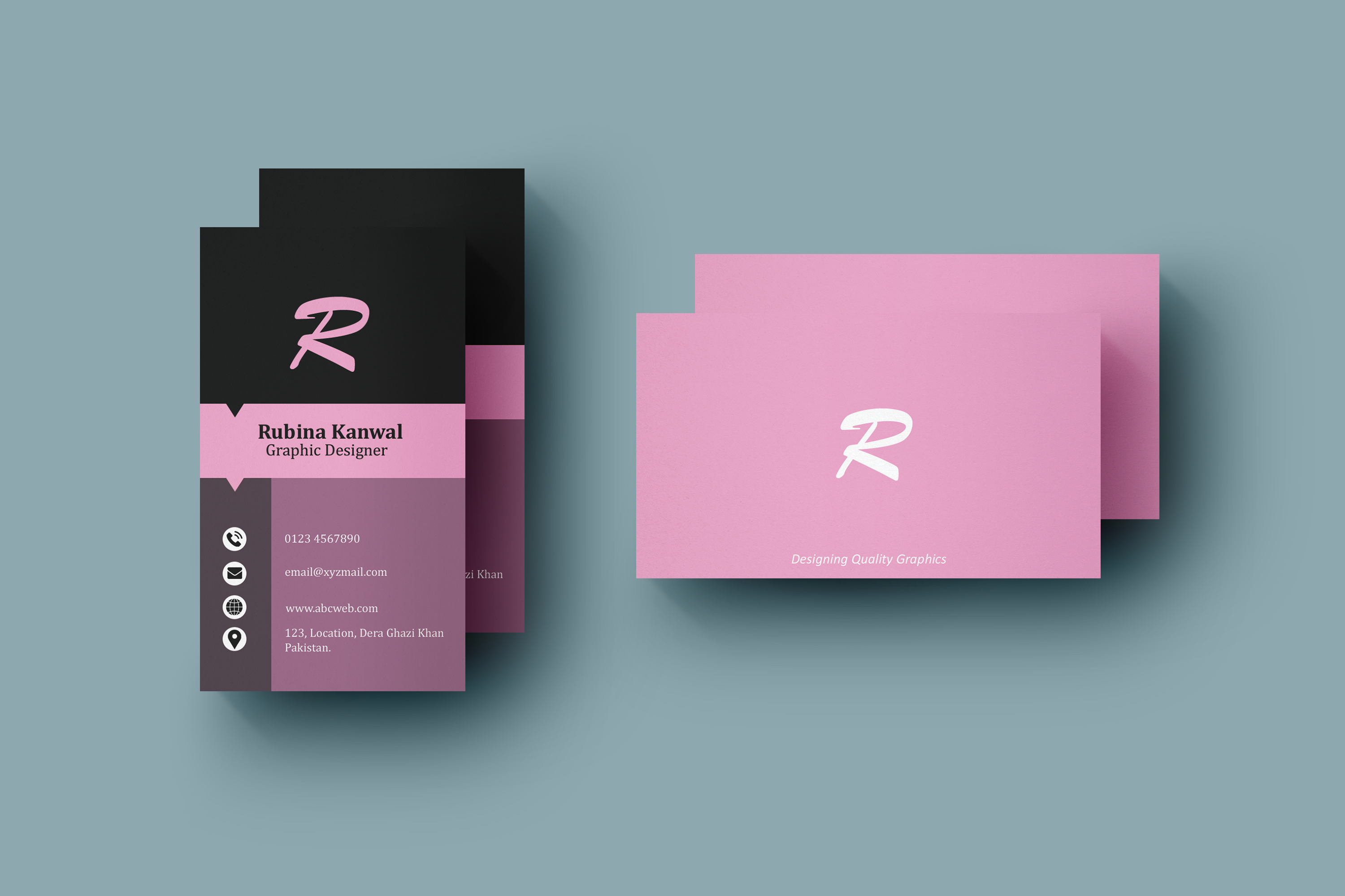 Business Card Design - Clean, Minimal, Professional