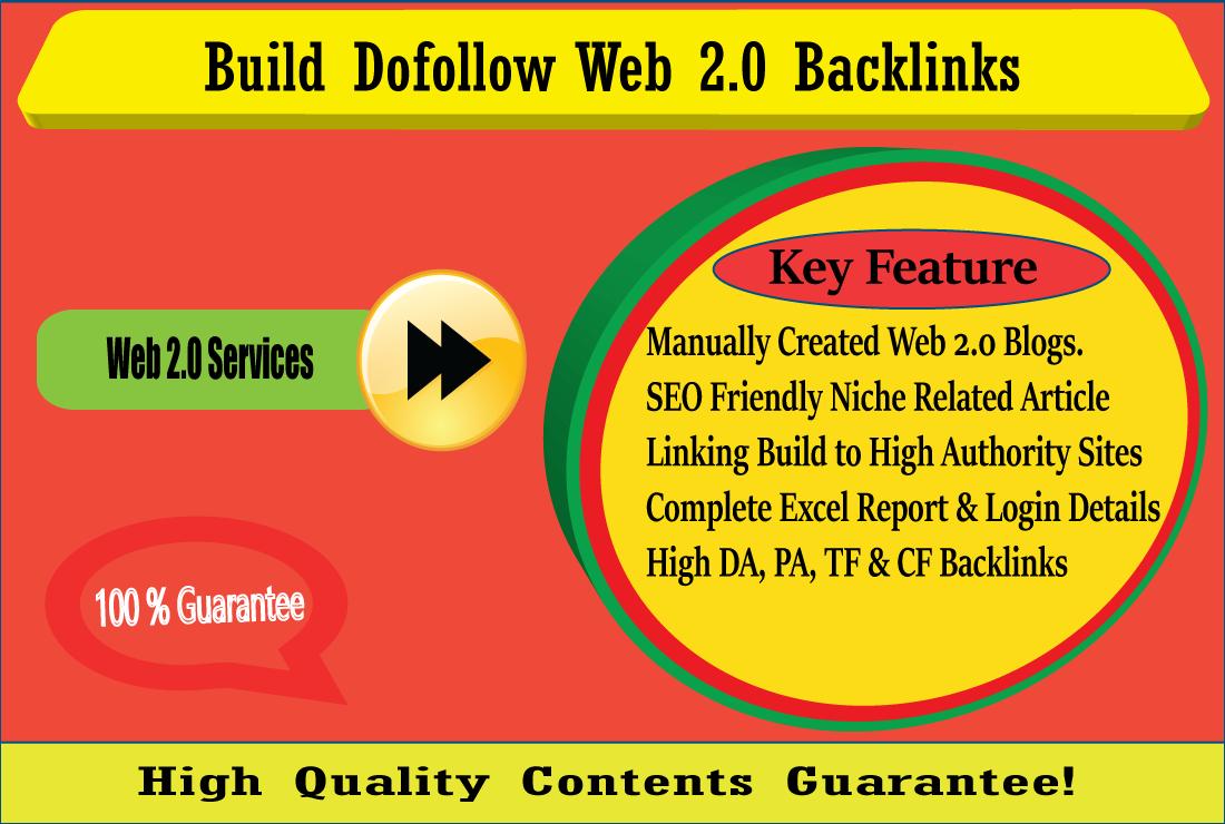 I will Create Manually 15 Web 2.0 Backlinks