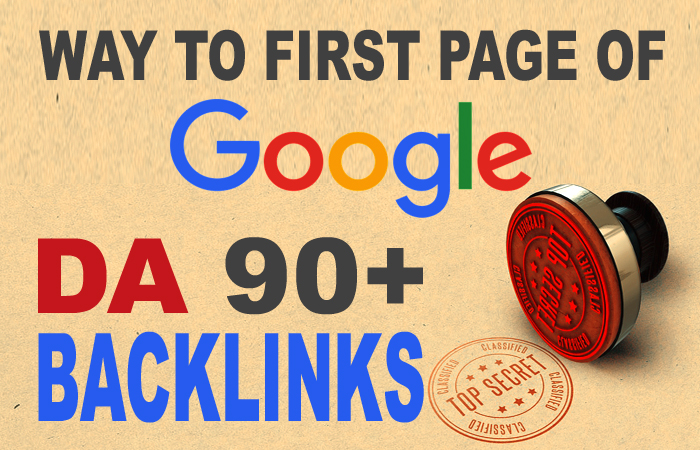 Dominate Google With Ultimate 10 High DA 90+ Backlinks