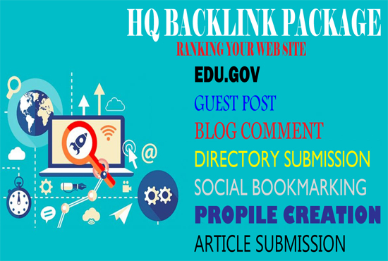 Low price HQ Package Backlink 2020