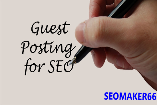 I will publish 2 high authority guest post for top SEO ranking