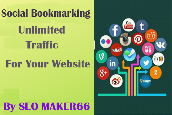 Create 50 social bookmarks Instantly approved
