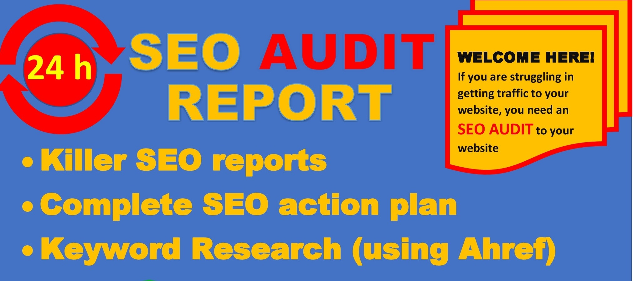 provide detailed SEO report,competitor audit and action plan