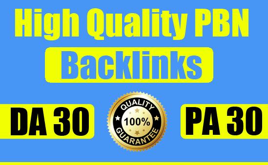 create provide you high da PBN links