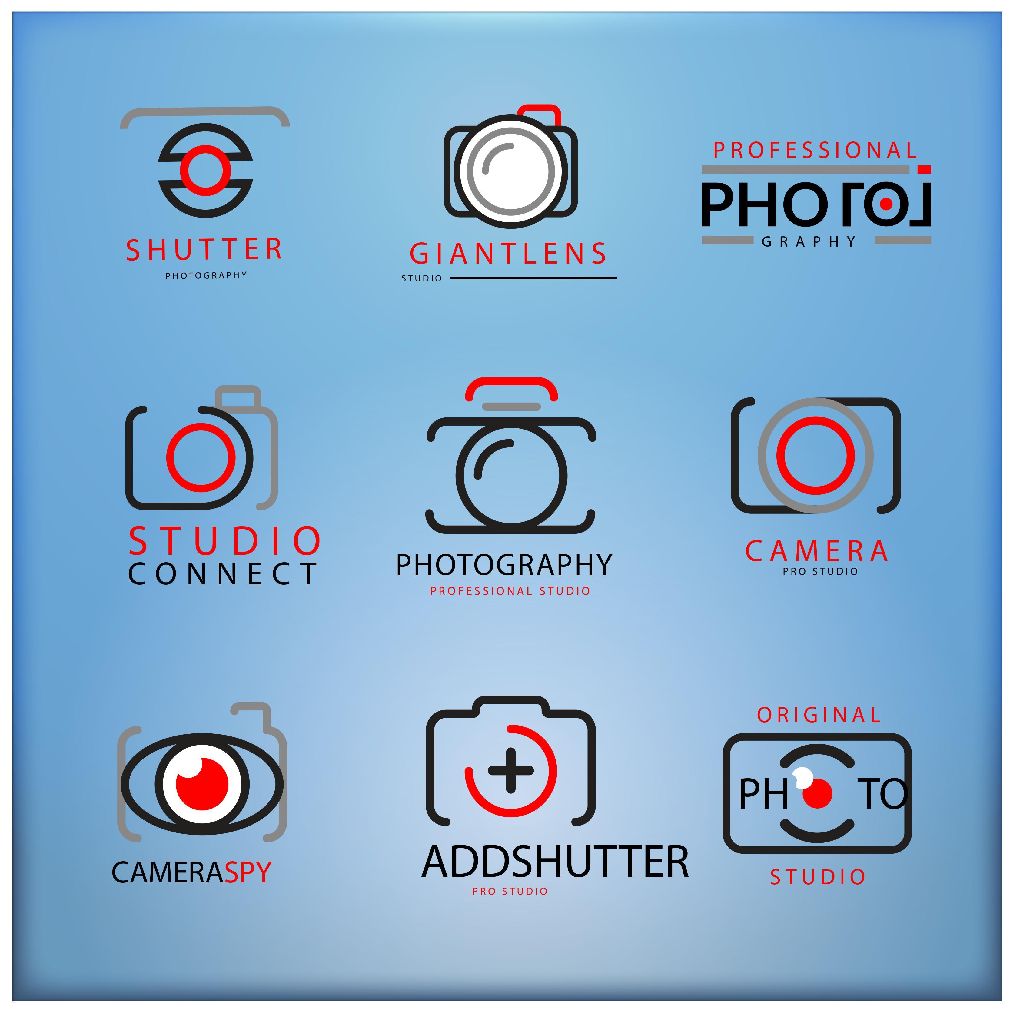 I will design photography logos