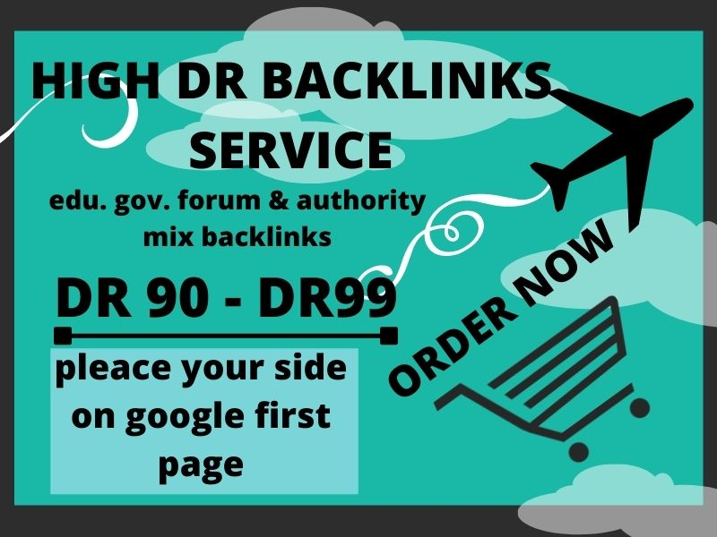 I will create 50 High Quality SEO backlinks,  Authority link building for First Page Google Ranking