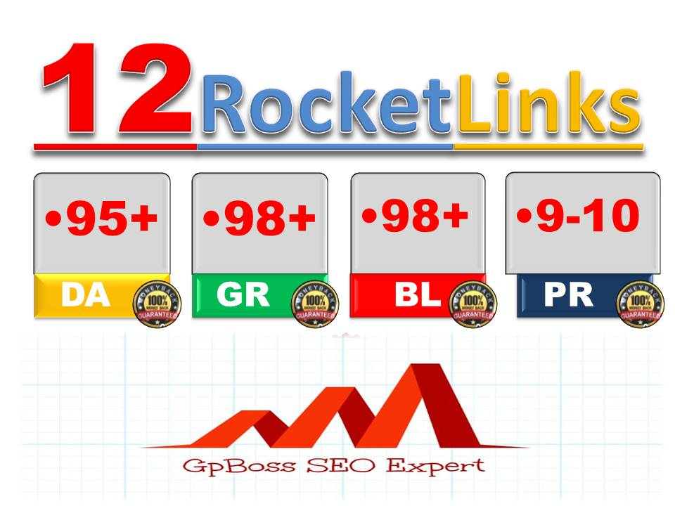 Special offer- 12 SEO Backlinks From PR9-10 High DA95+ Domains- Skyrocket your Google Rankings NOW