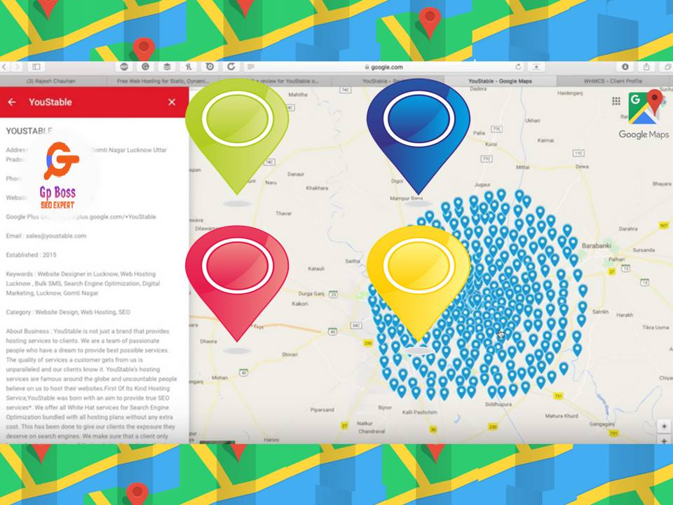 Manually google map ranking with 700 local citations for business SEO