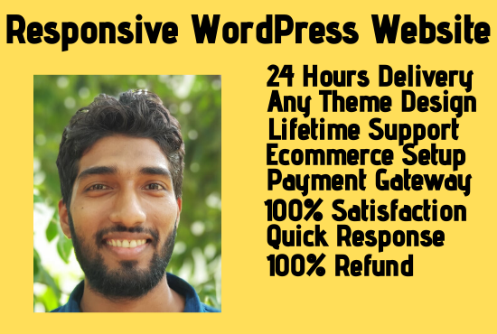 I will Customize Responsive WordPress Website Within 24 Hours