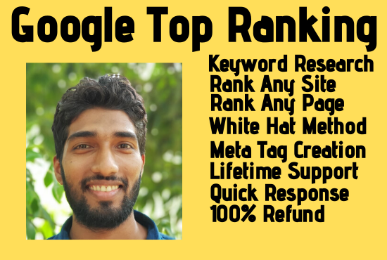 I will bring Guaranteed SEO Google Top Ranking your Website and Webpage