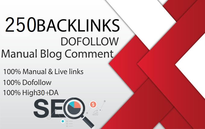 I will do 250 high authority dofollow blog comment DA 30+