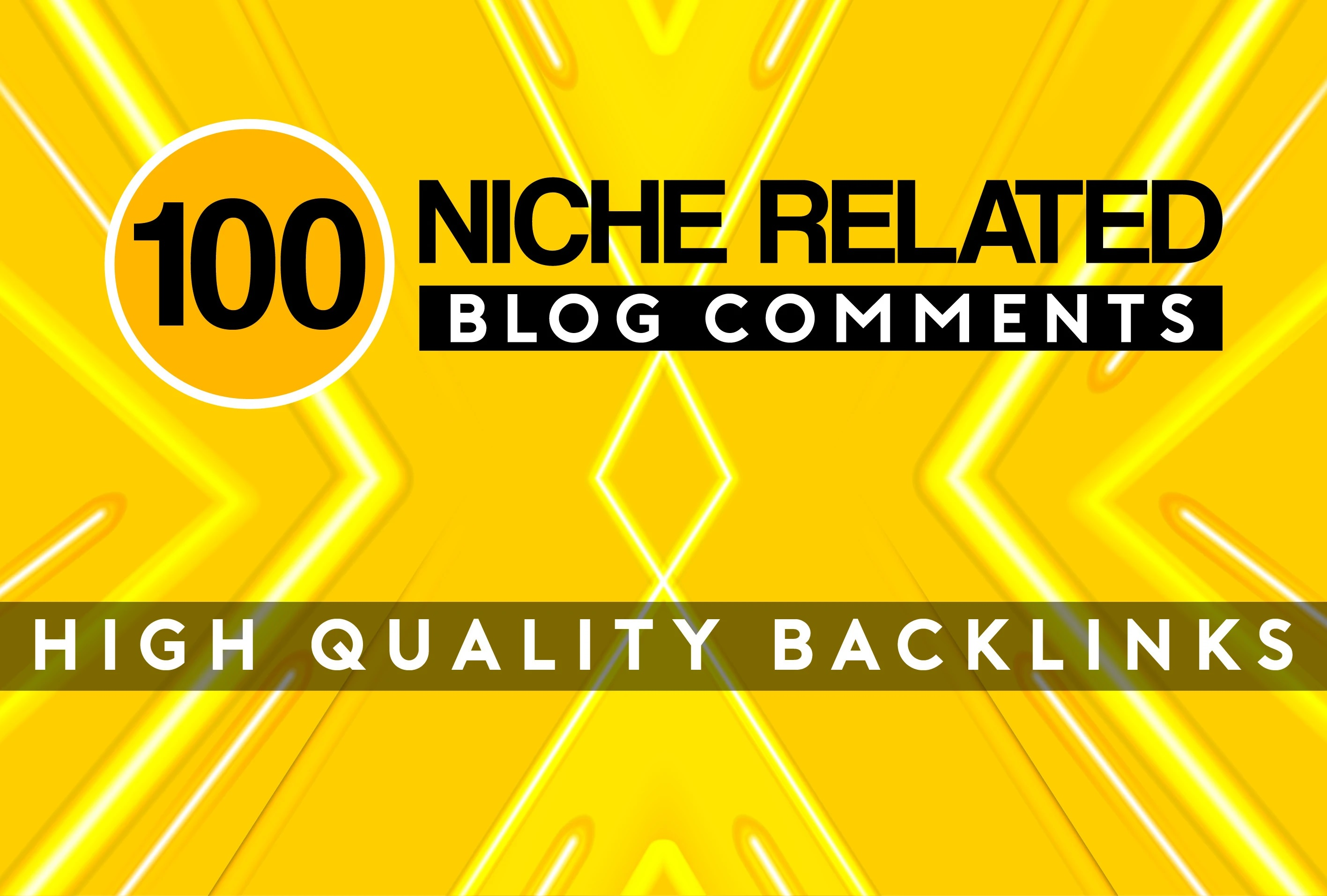 I will do 100 Niche Relevant Manual Blog Comments Links