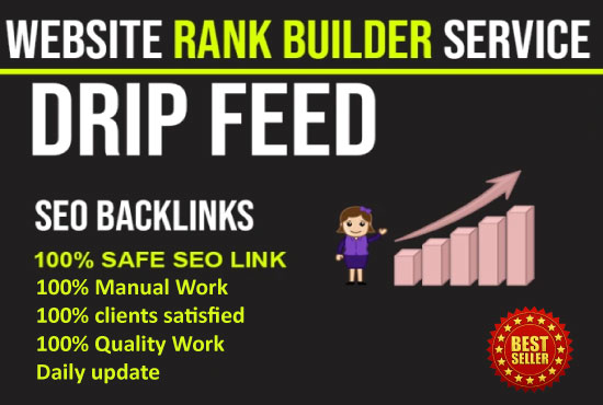 I will provide 20days SEO drip feed backlinks for a daily update