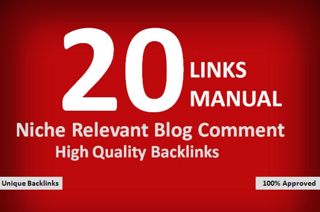 I will Provide 20 you Best niche relevant Qaulity work