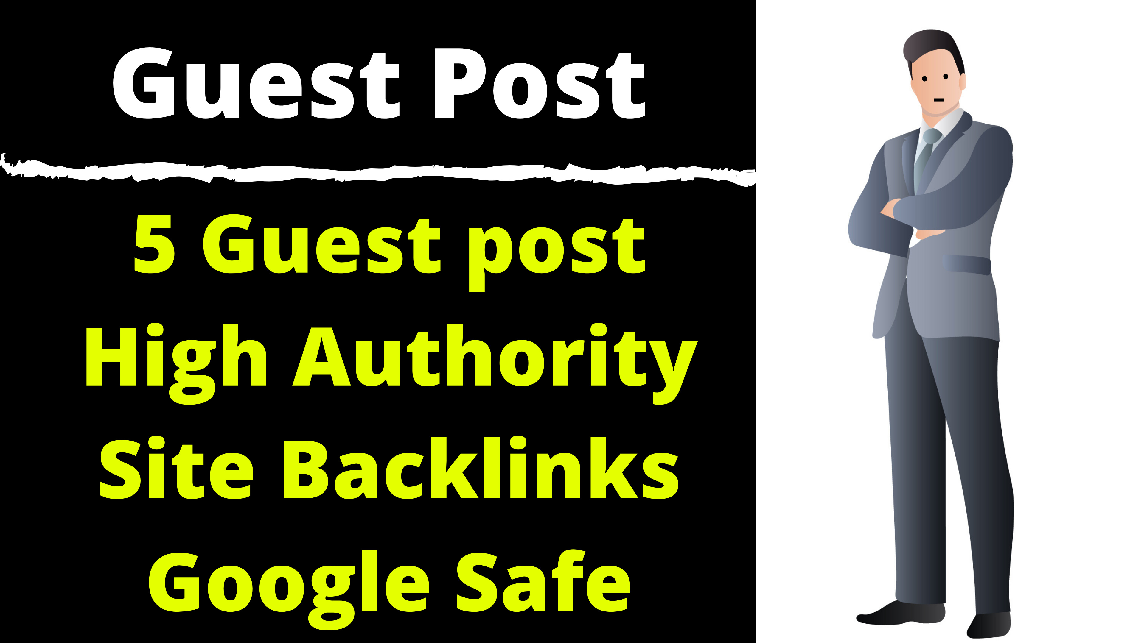 5 Guest Posting From High Domain Authority Sites 70 - 100 DR