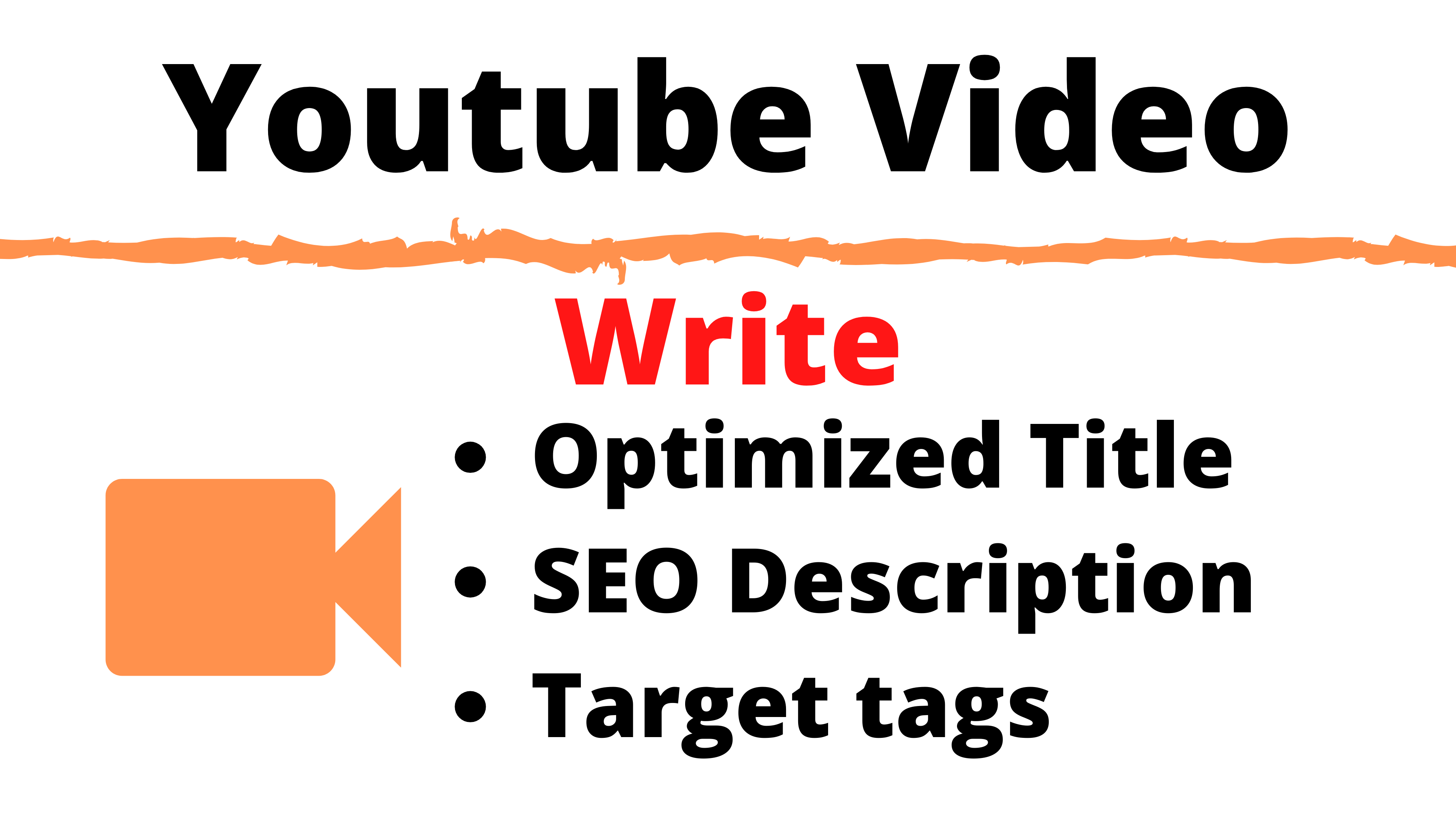 Do Youtube SEO Of Your Video,  Write Title Description Tags