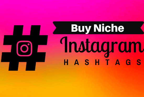 I will research the top 100 hashtags to grow your instagram