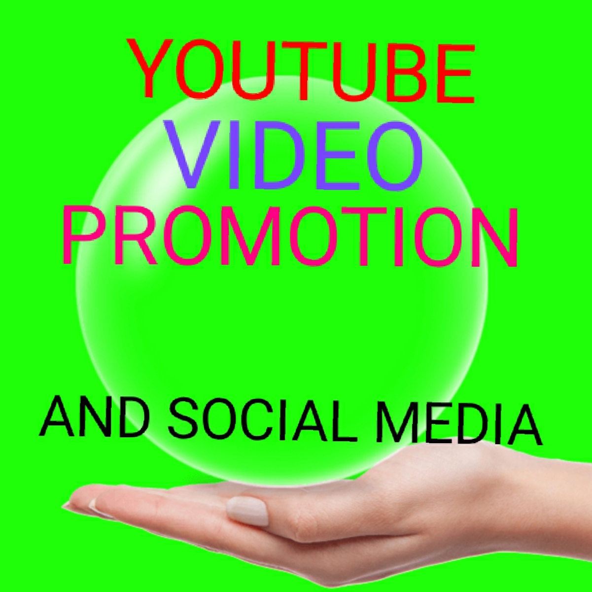 organic video promotion and social media and marketplace
