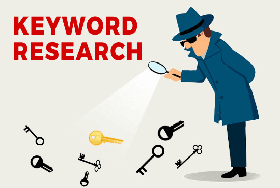 Want to rank up your business I can do 25 keywords research