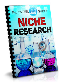 Insiders Guide to Niche Research