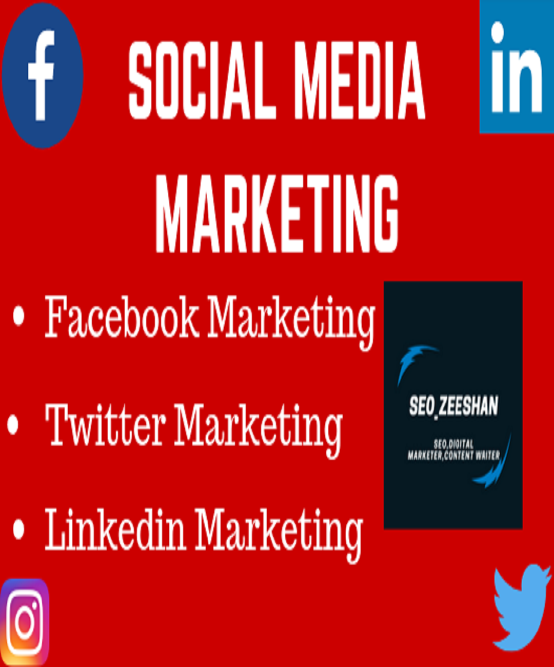 Create Social media Profile Or Business Page
