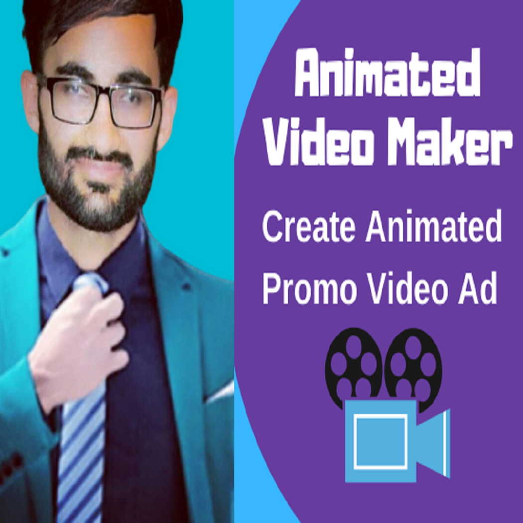 I will create animated short video ads