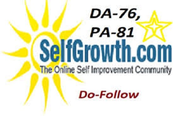 Publish Article On Selfgrowth. With Google Index
