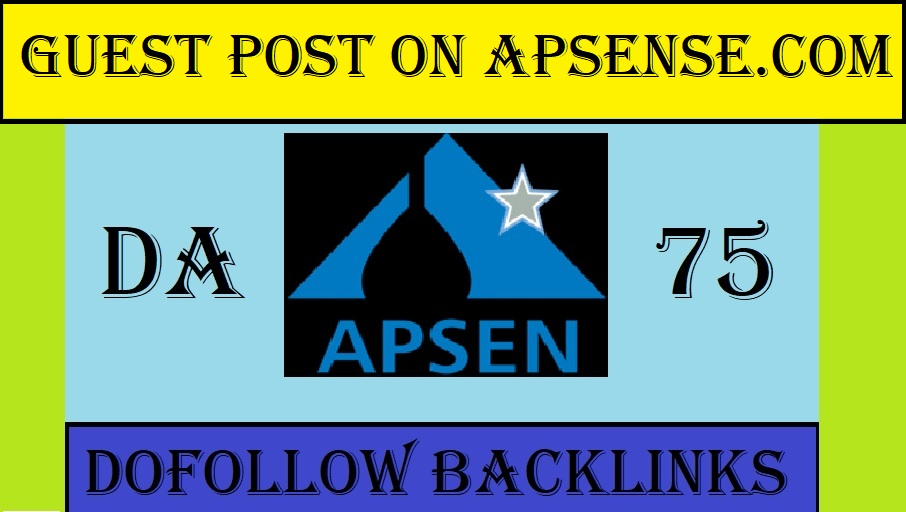 Guest Post on Apsense. com with Do-follow Backlink