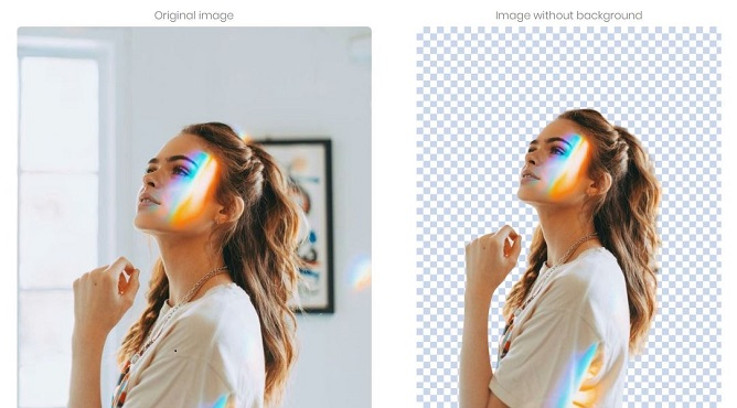 do 5 images background removal professionally