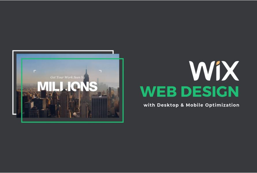 I will design a stunning wix website that is easily managed