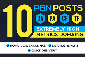 I will do 10 pbn manual homepage permanent pbn backlink with high da pa