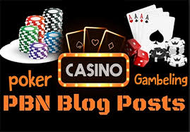Provide Casino Posts Gambling Poker 10 Pbn DR 50 plus Dofollow High Quality Backlinks
