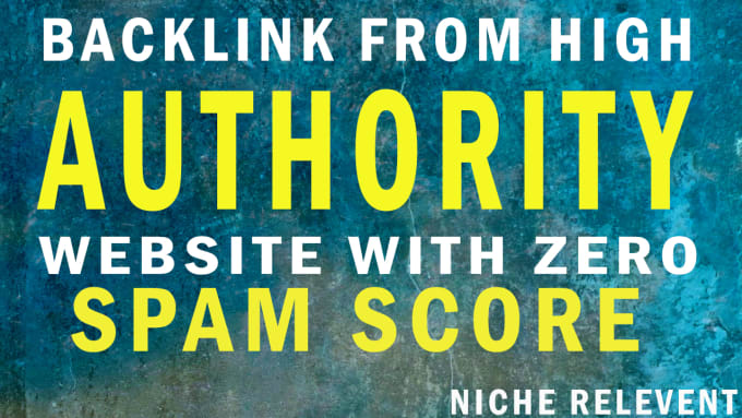 I will build high quality backlinks NICHE RELEVENT
