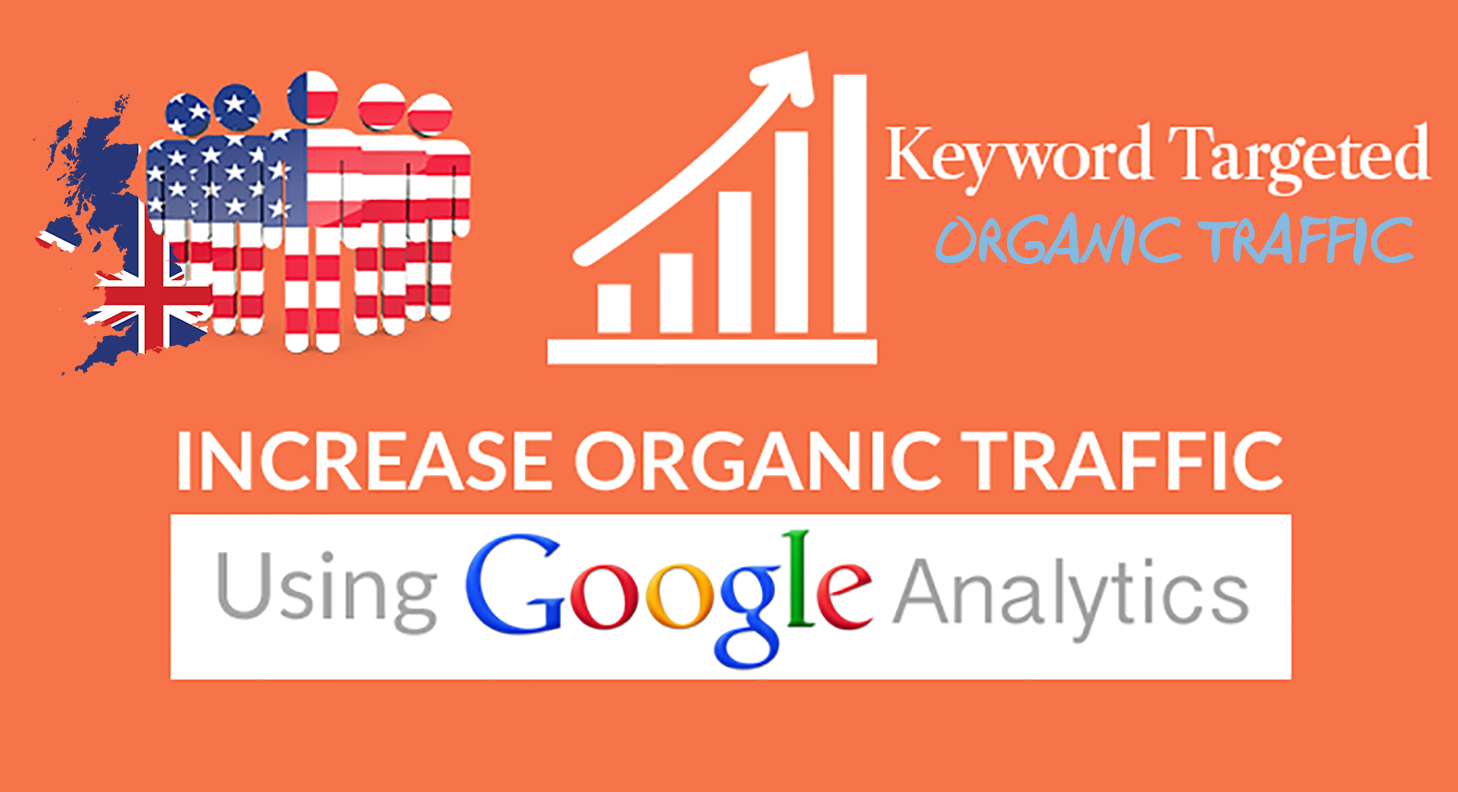 I will send USA targeted organic traffic from google